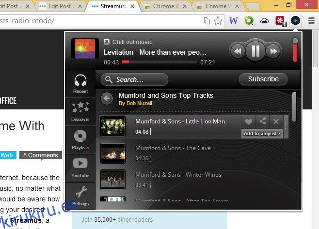 Muzeit-Chrome-Add-to-playlist