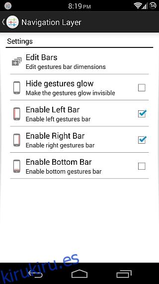 Capa de navegación para Android 2