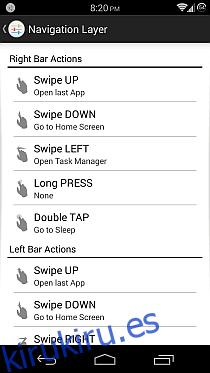 Capa de navegación para Android 5