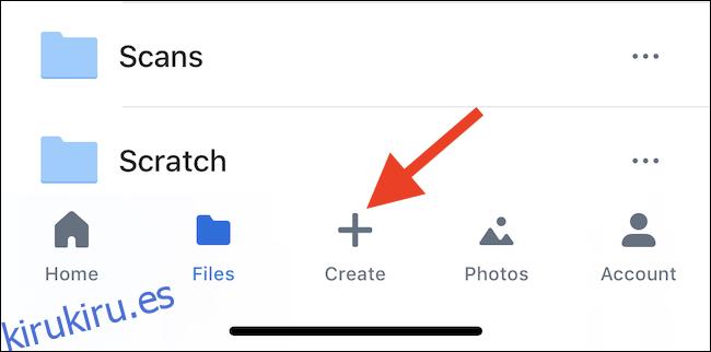 Cómo cargar varios archivos a Dropbox a la vez con un iPhone o iPad