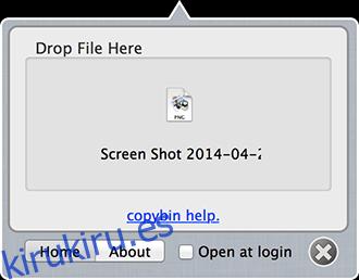 Copybin - Enviado desde Mac
