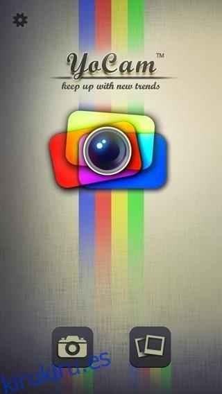 YoCam agrega varios filtros y lentes a las fotos de tu iPhone [iOS]
