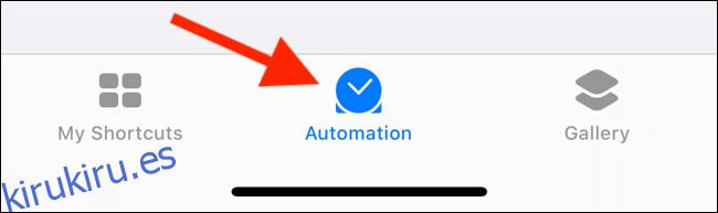 Cómo crear automatizaciones en un iPhone o iPad