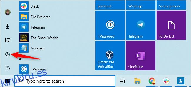 Cómo cambiar a una cuenta de usuario local en Windows 10