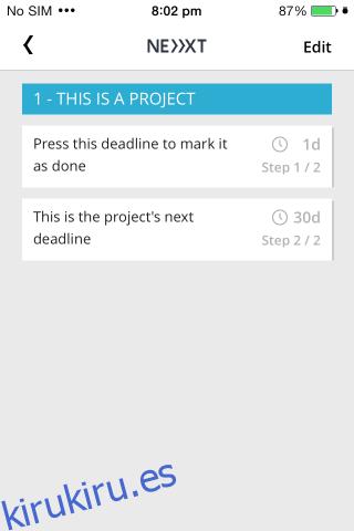 Proyecto Next Deadline