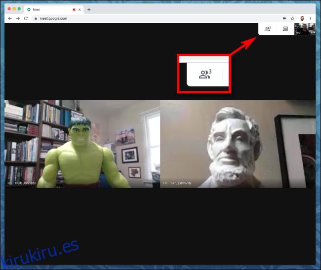Cómo silenciar a otras personas en Google Meet