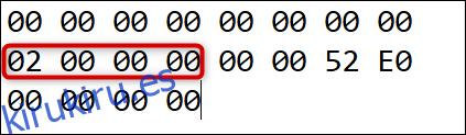 Este es el número de reasignaciones (más uno), seguido de 6 ceros.