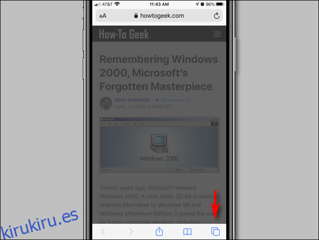 Cómo utilizar la navegación privada de Safari en un iPhone o iPad
