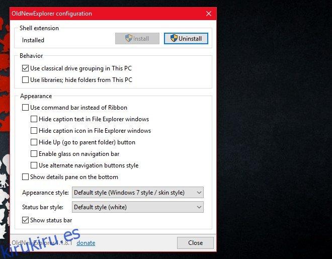 Cómo habilitar la barra de propiedades en el Explorador de archivos en Windows 10