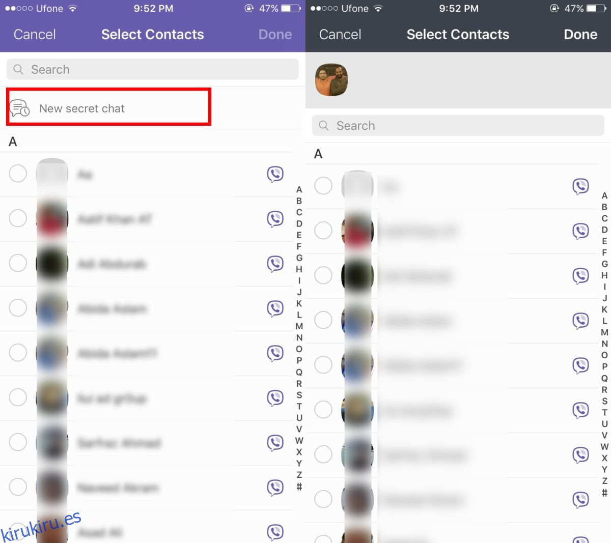 Cómo enviar mensajes secretos de autodestrucción en Viber