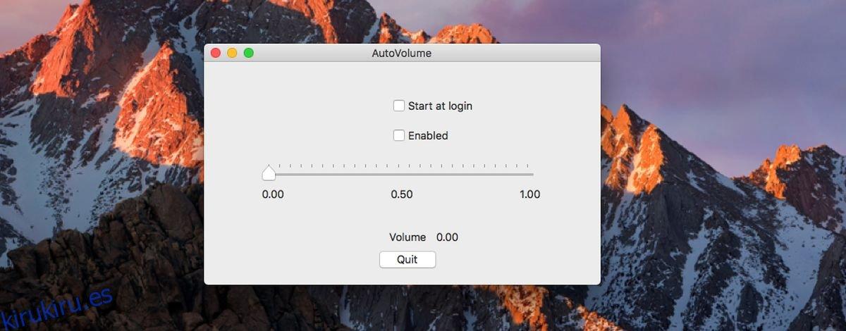 Cómo cambiar automáticamente el volumen del sistema al despertar en macOS