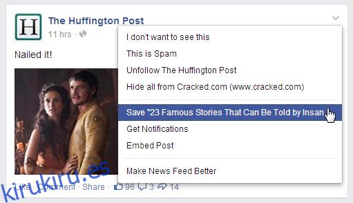 Facebook ahora te permite marcar publicaciones desde la Web y el móvil