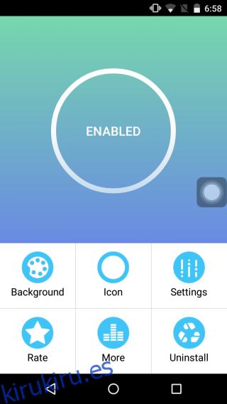 Obtenga iOS Like Assistive Touch en su teléfono Android