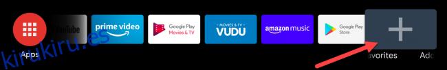 Cómo personalizar la pantalla de inicio de Android TV