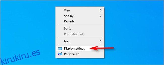 Cómo cambiar la frecuencia de actualización de su monitor en Windows 10