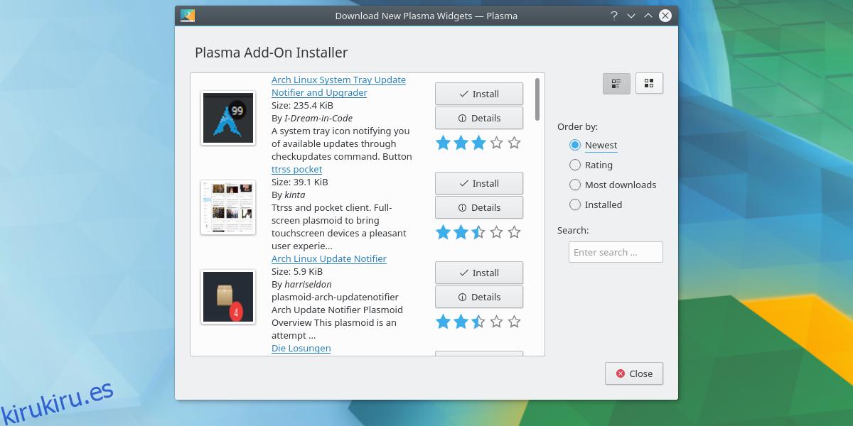 Cómo personalizar el escritorio de KDE