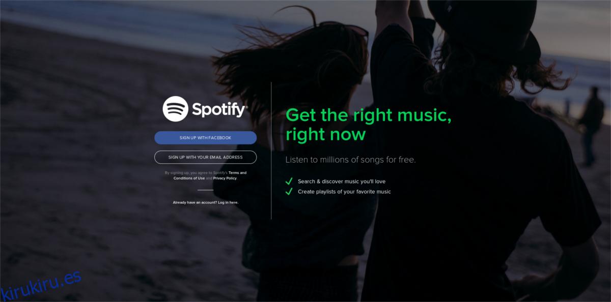 Cómo instalar Spotify en Linux