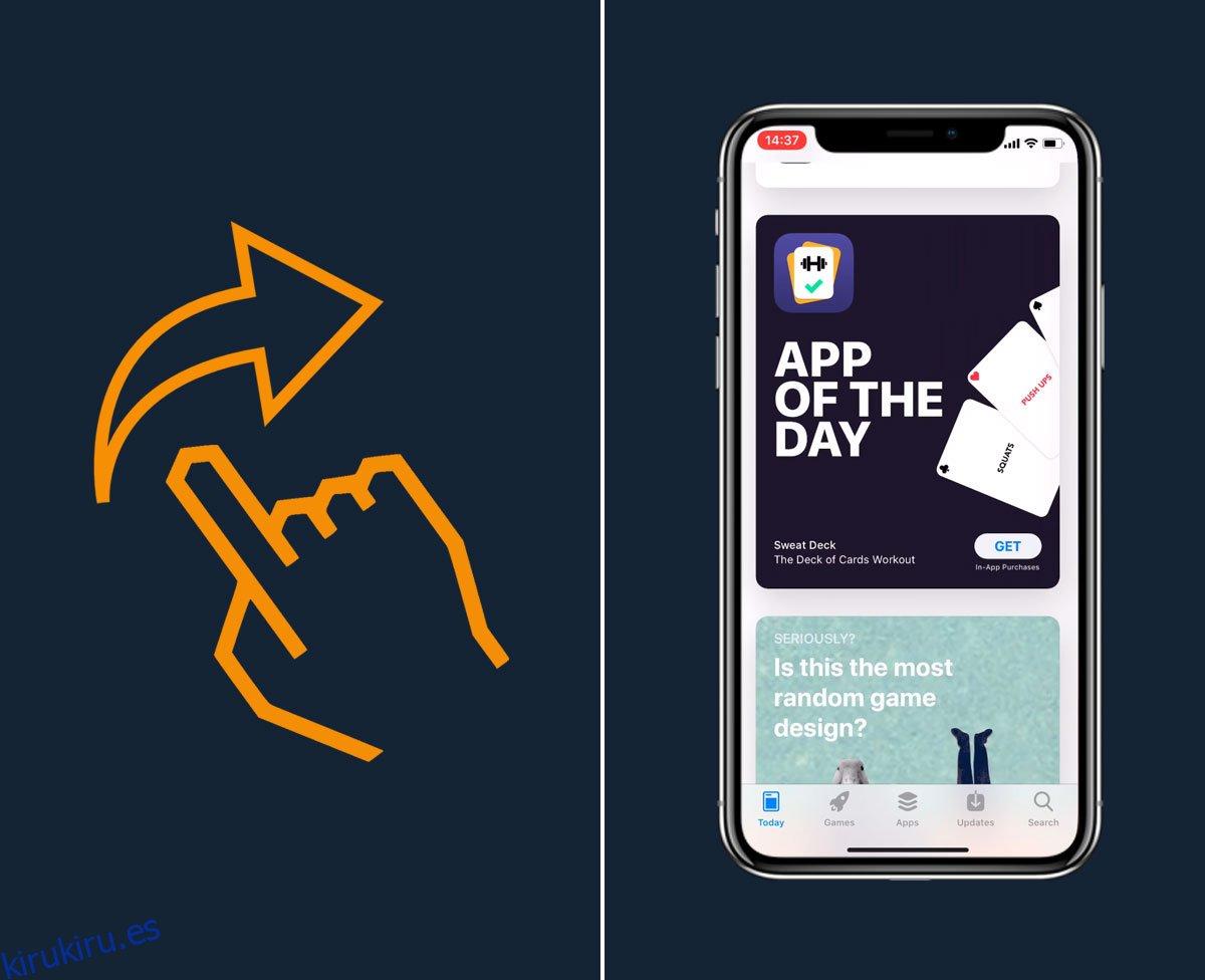 Cómo cambiar entre aplicaciones en iPhone X