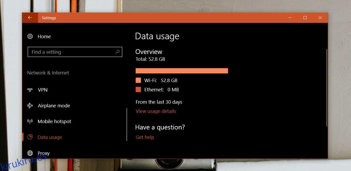 Cómo rastrear el uso de datos por Netflix