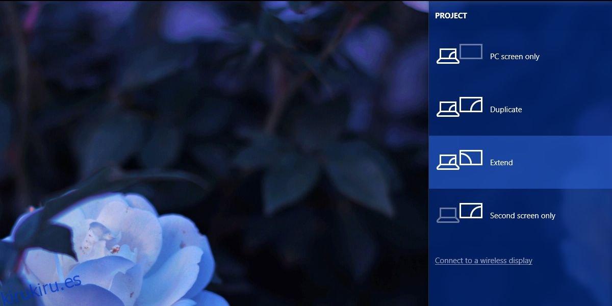 Cómo desconectar un monitor sin desenchufarlo en Windows 10