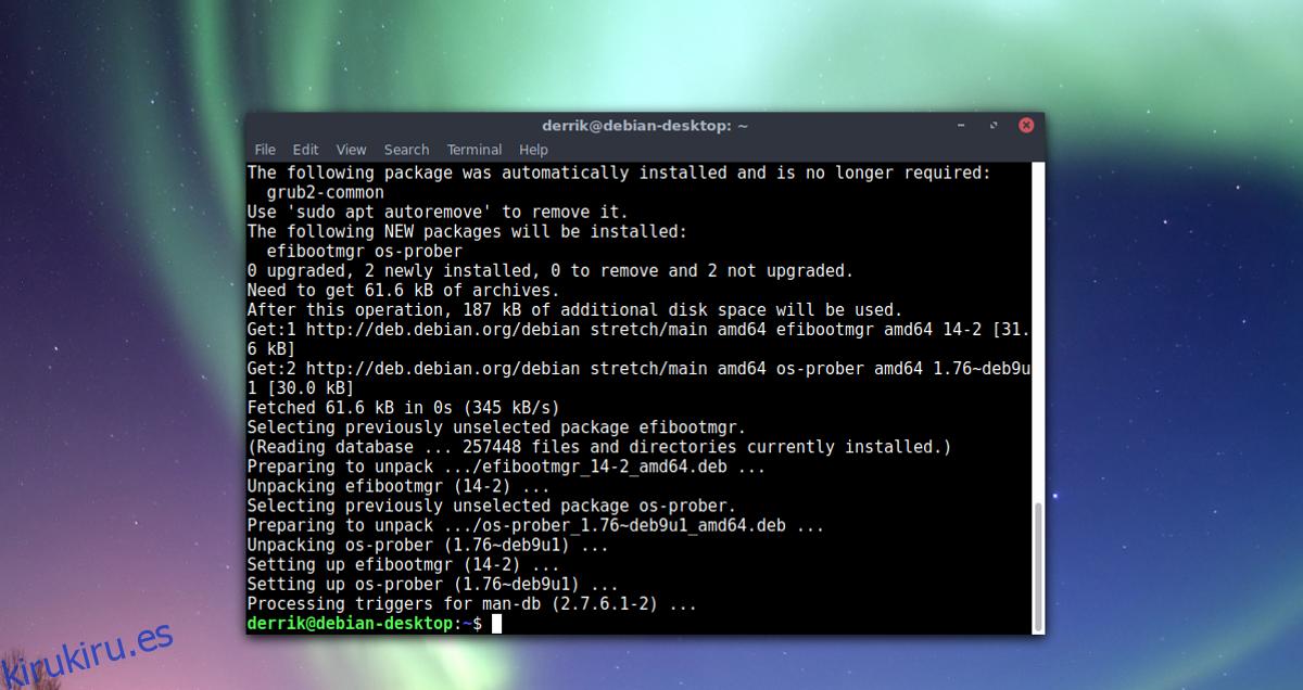 Cómo iniciar dual Linux y Windows 10