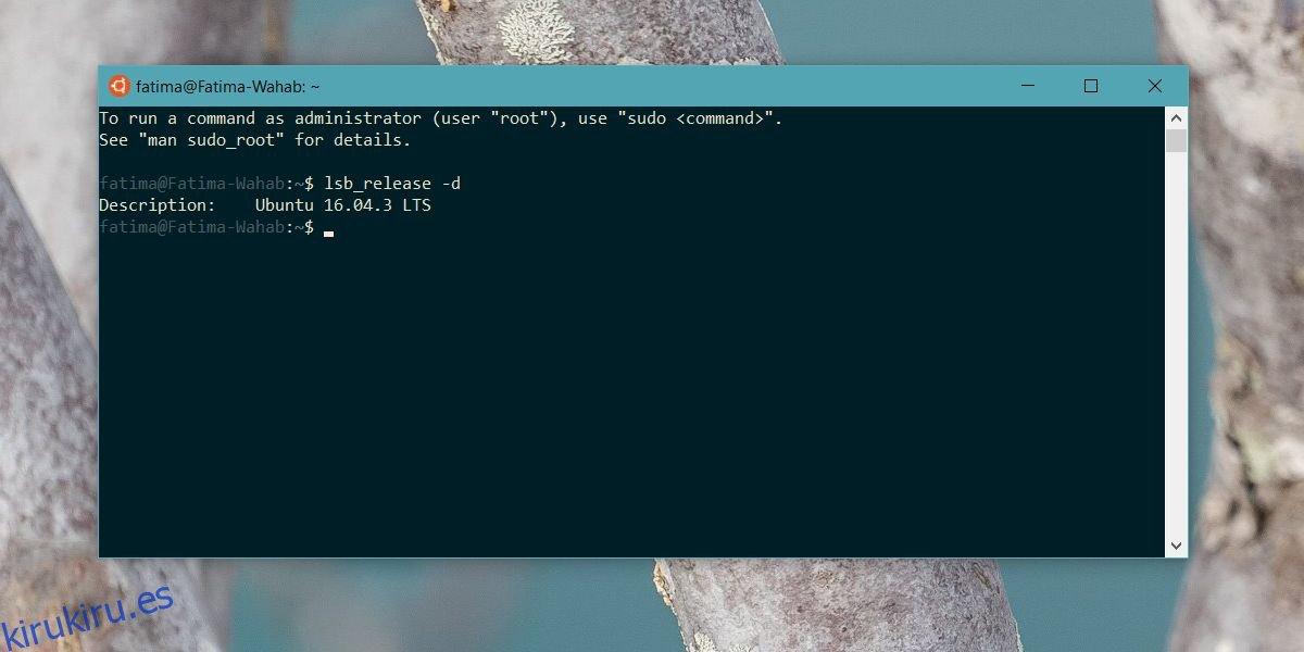 Cómo actualizar a Ubuntu 18.04 en Windows 10
