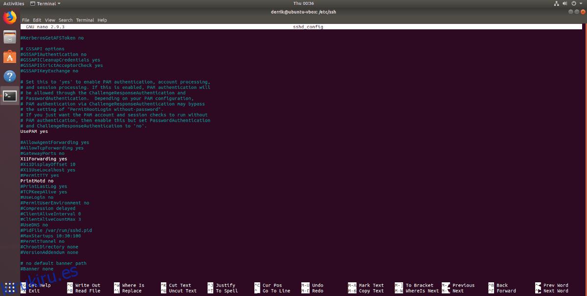 Cómo configurar el reenvío X11 en Linux