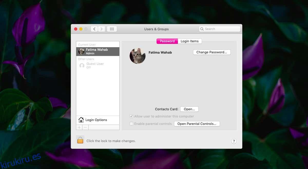 Cómo habilitar sugerencias de contraseña en macOS