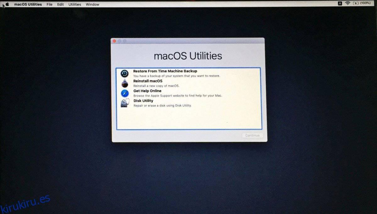 Cómo habilitar / deshabilitar la protección de la integridad del sistema en macOS