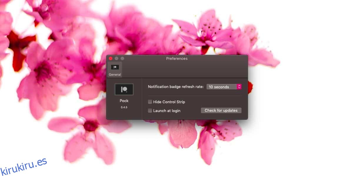 Cómo agregar el Dock a la Touch Bar en una MacBook