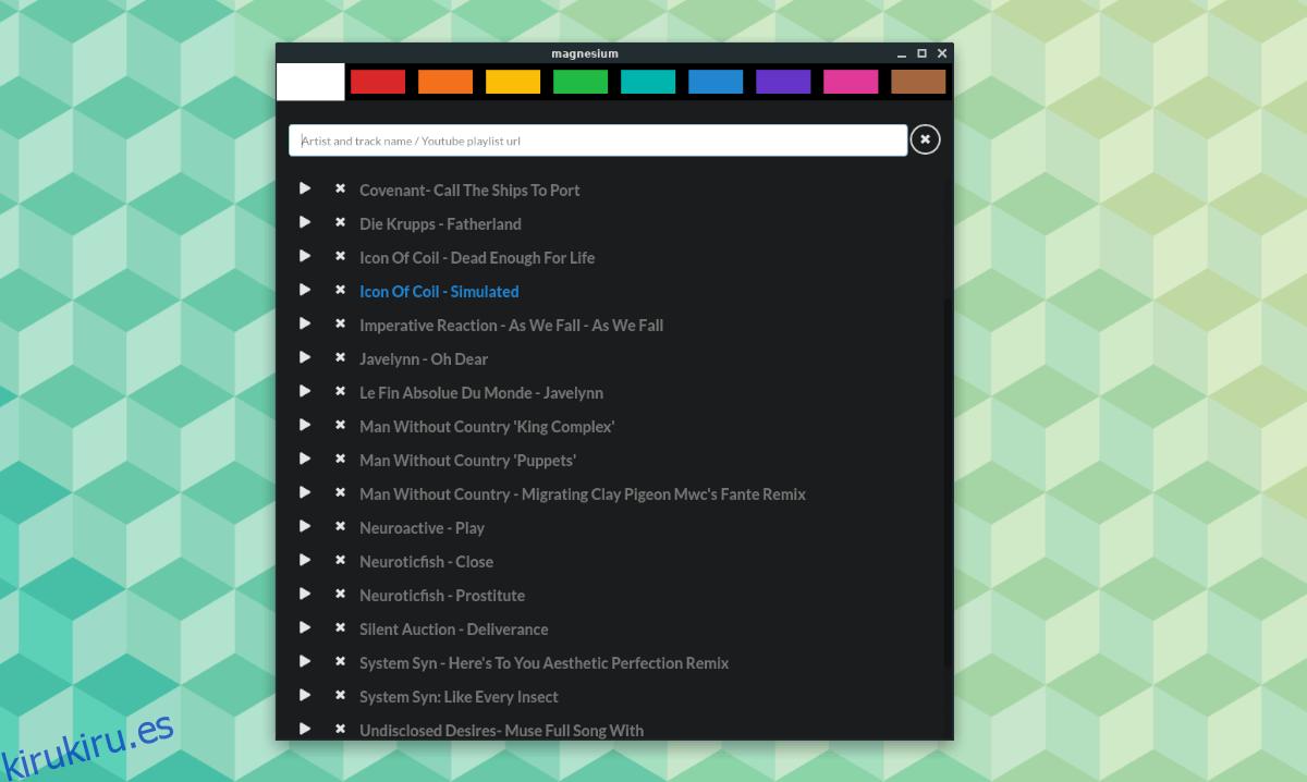Cómo usar YouTube como biblioteca de música en Linux con Magnesium