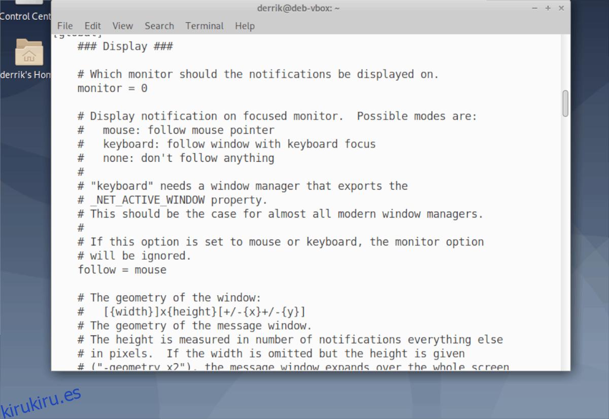 Cómo configurar mejores notificaciones del sistema en Linux con Dunst