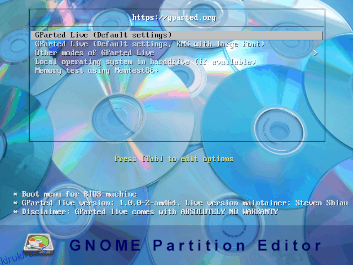 Cómo clonar un disco duro Linux con Gparted