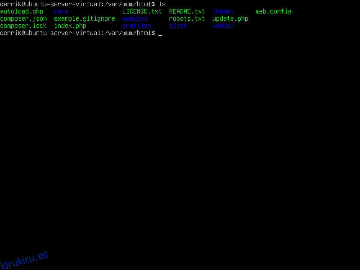 Cómo hacer una copia de seguridad de un sitio Drupal en Linux