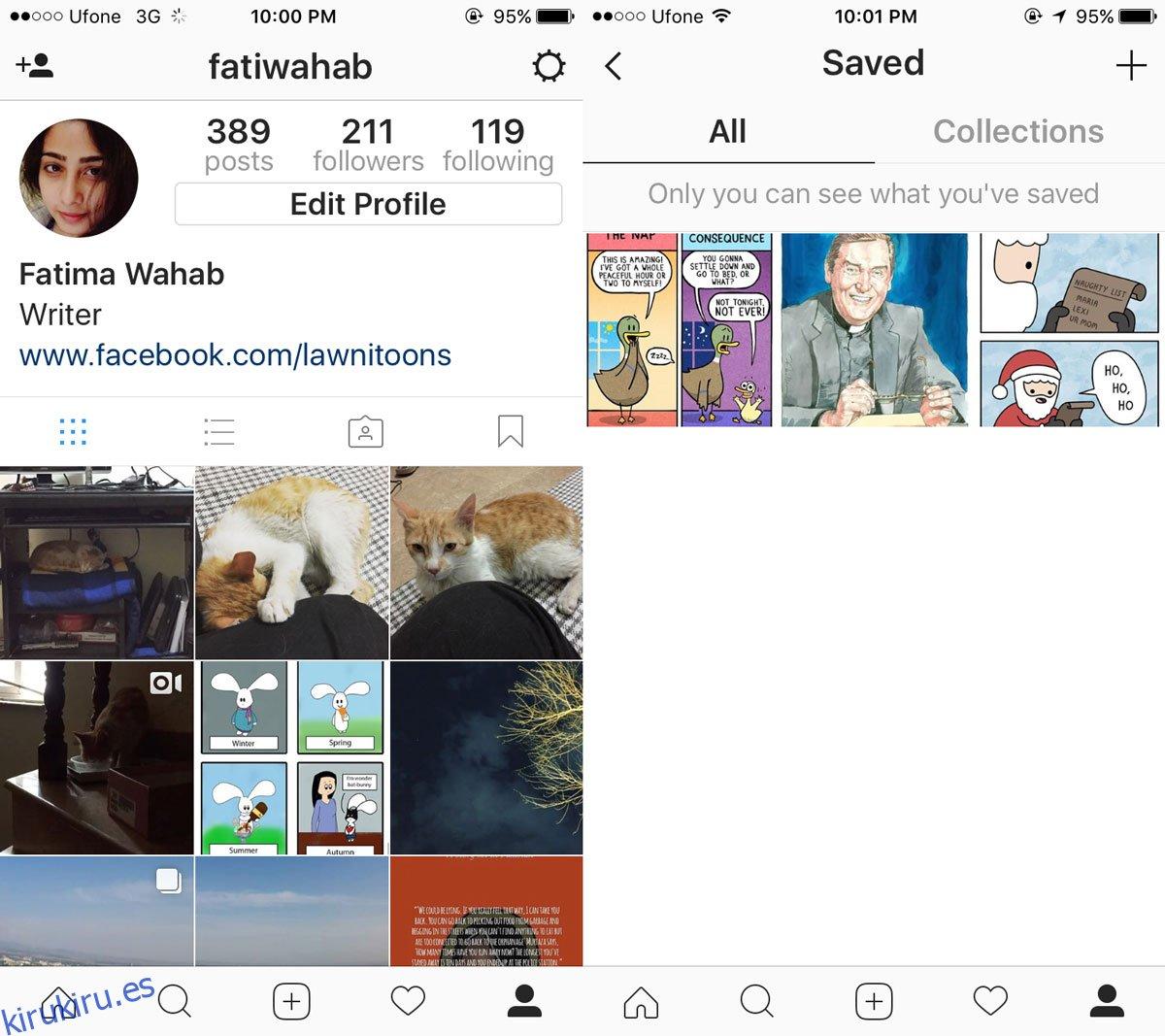 Cómo crear una colección en Instagram