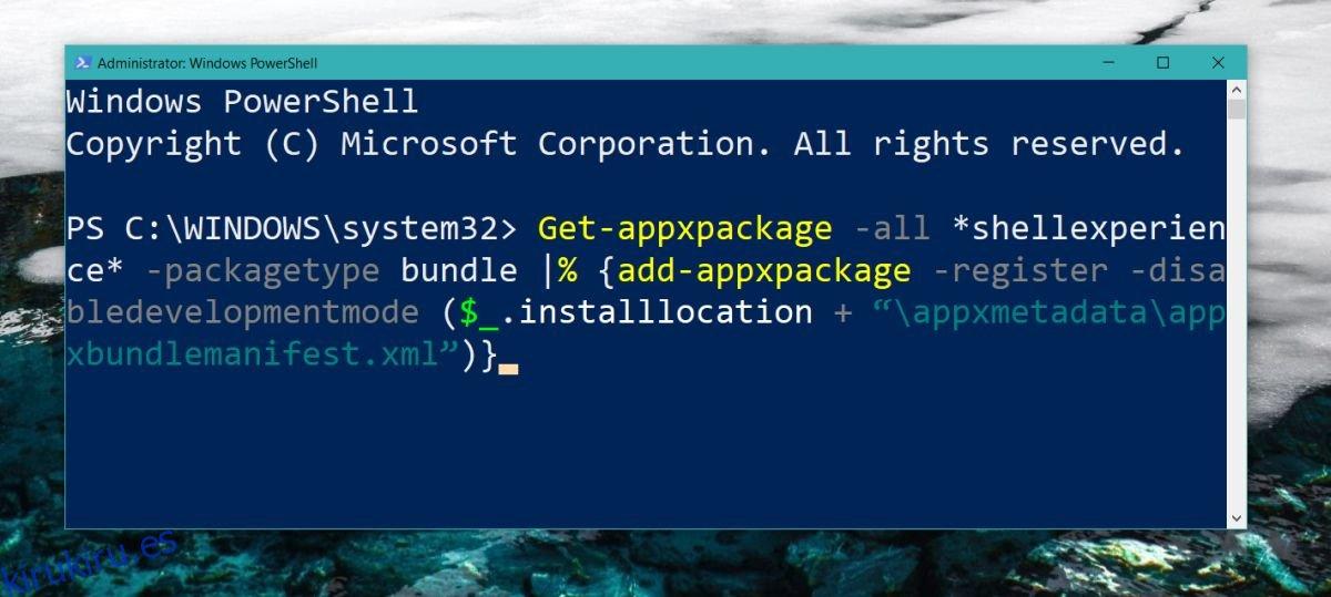 Cómo arreglar el reinicio del menú de inicio de Windows 10
