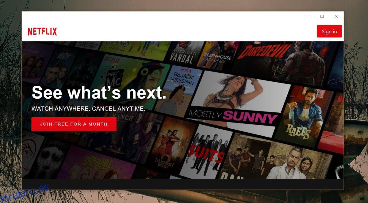 Cómo forzar la eliminación de subtítulos en Netflix