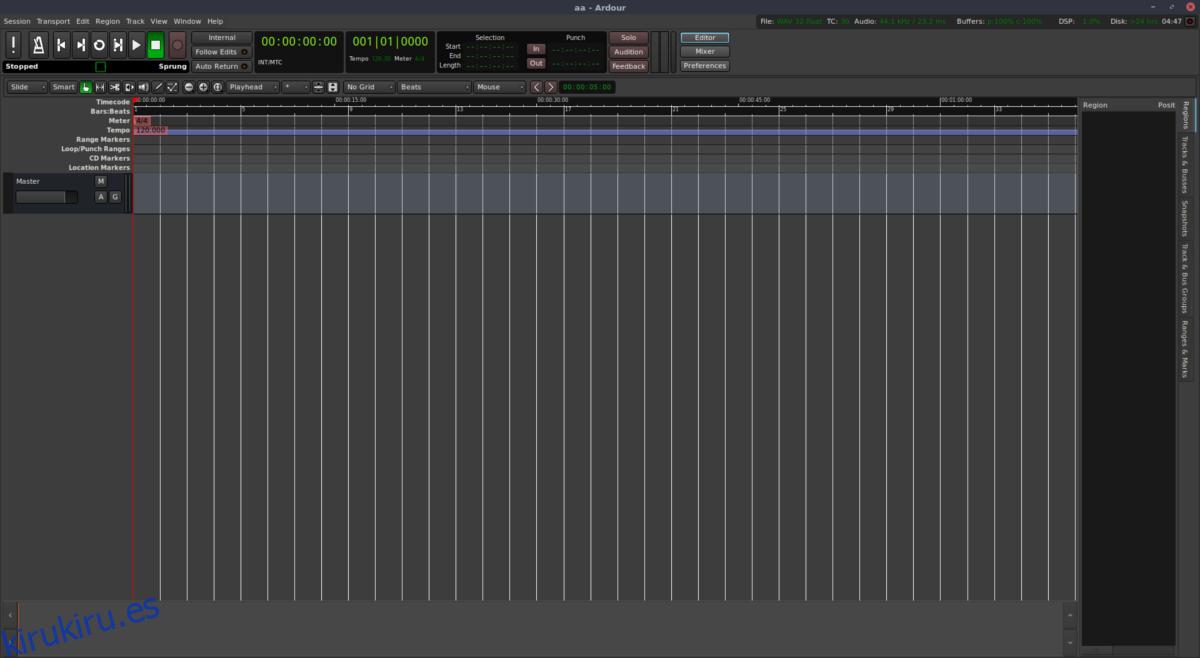 Cómo instalar Ardor Audio Editor en Linux