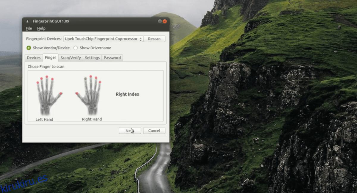 Cómo habilitar la compatibilidad con el escáner de huellas dactilares en Linux