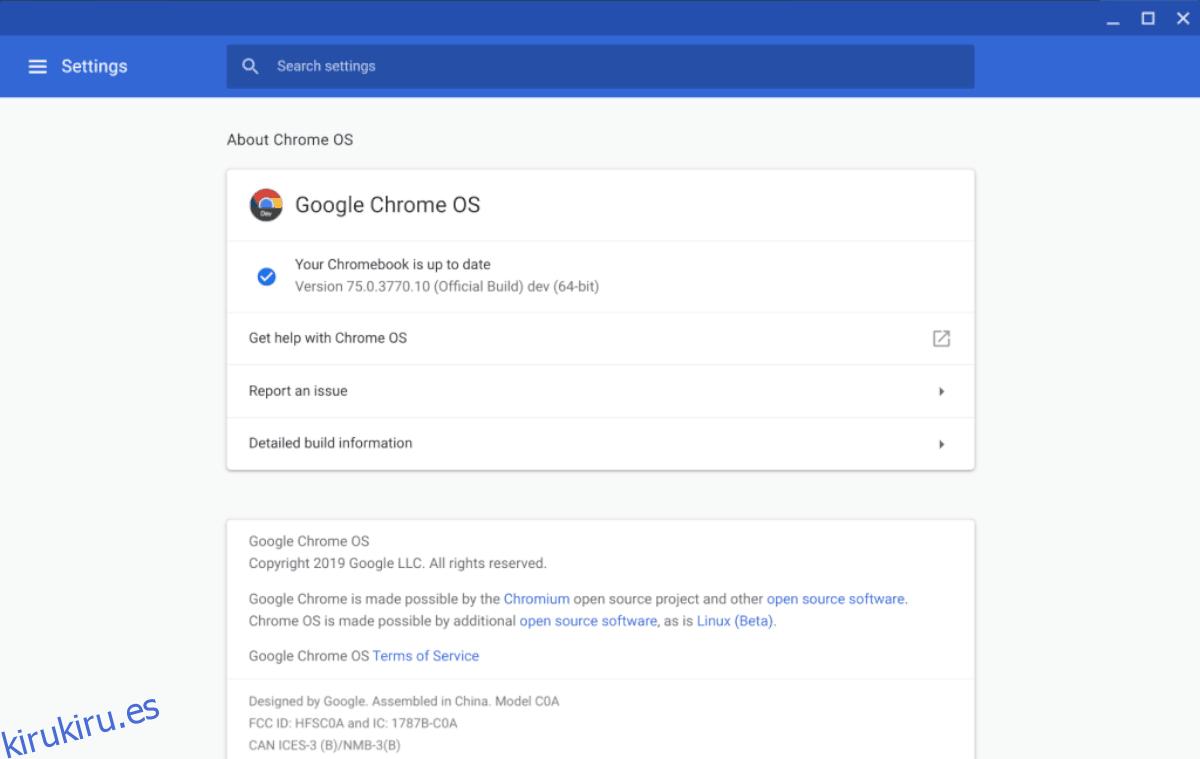 Cómo instalar aplicaciones de Linux en Chrome OS