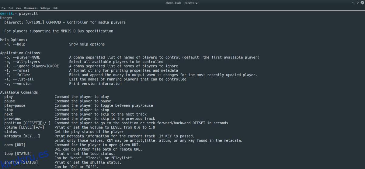 Cómo controlar los reproductores de música desde la línea de comandos de Linux
