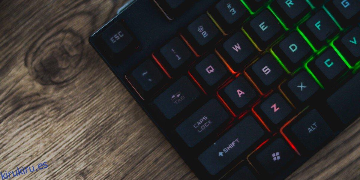 Cómo reasignar claves sin AutoHotKey en Windows 10