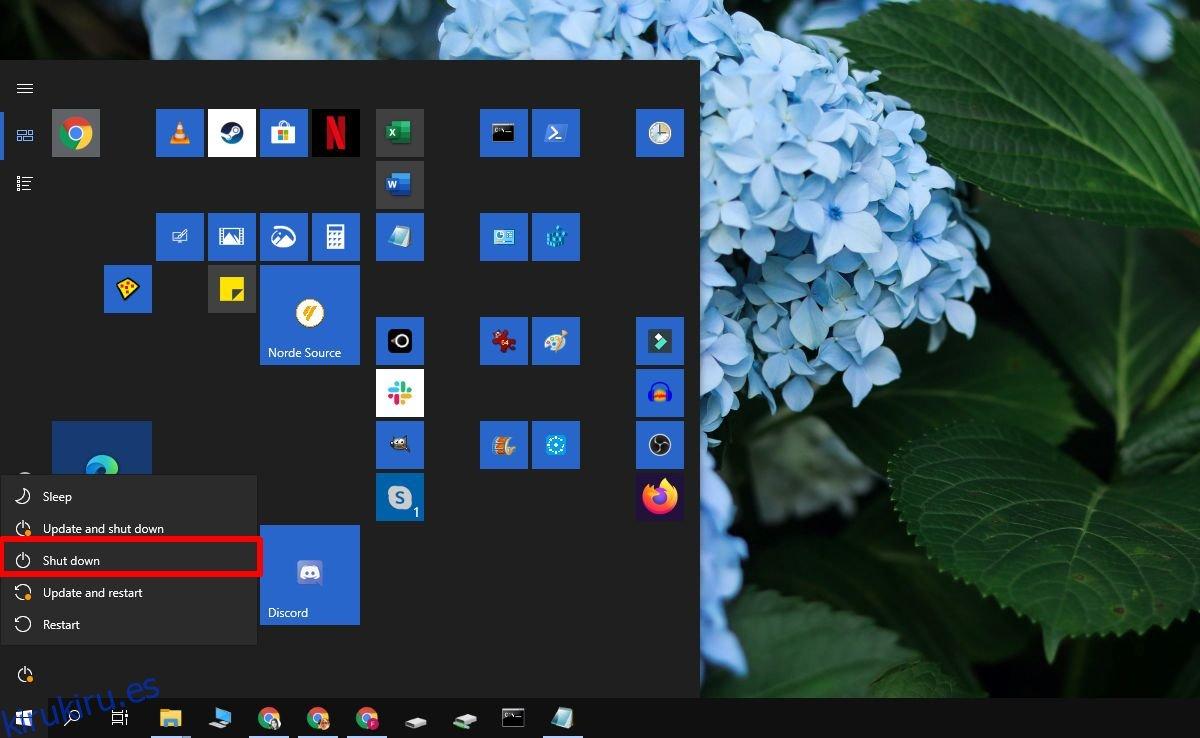 Cómo cerrar sin instalar actualizaciones en Windows 10