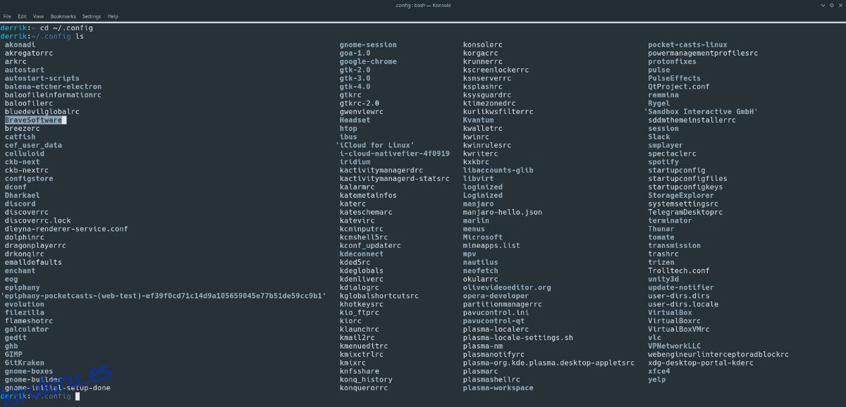 Cómo hacer una copia de seguridad del perfil del navegador Brave