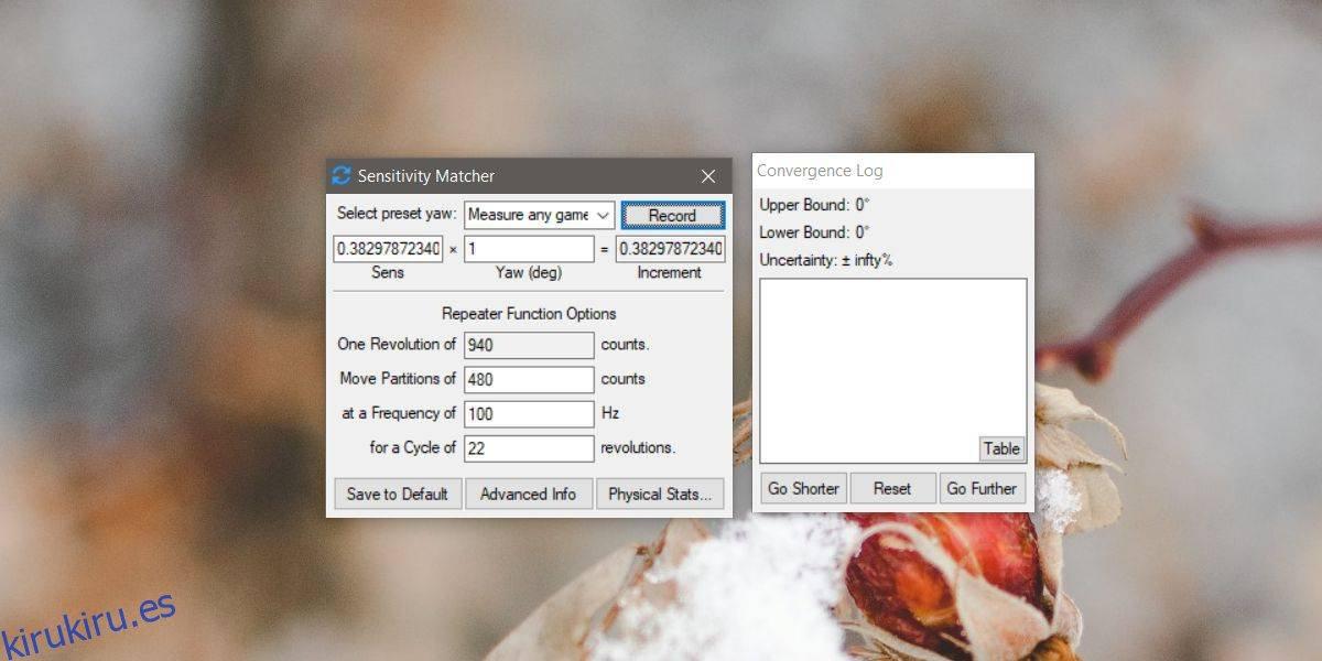 Cómo copiar la sensibilidad del mouse de un juego a otro en Windows 10