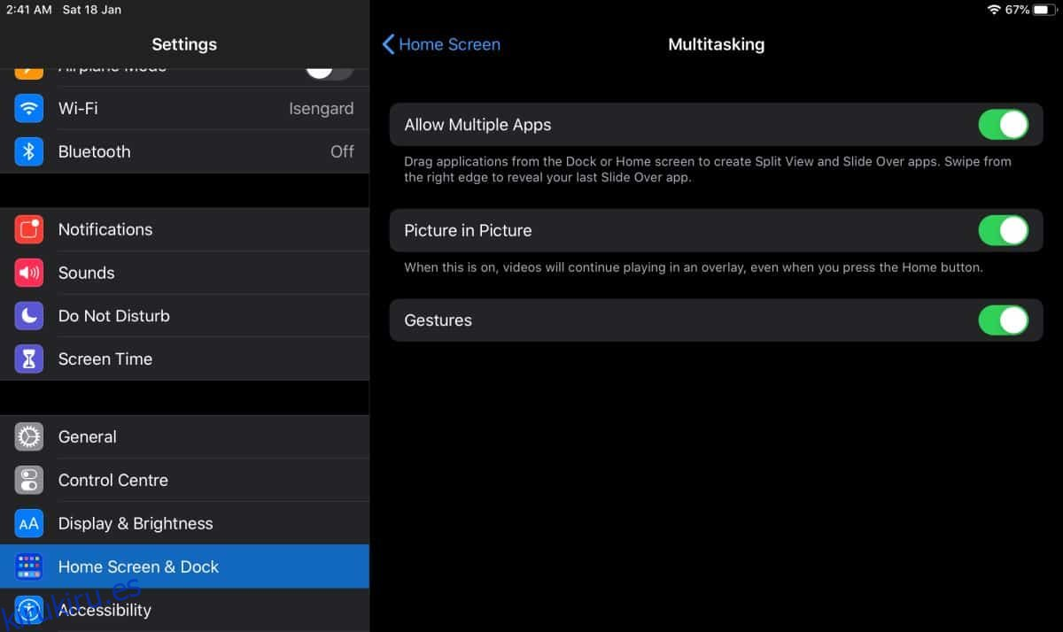 Cómo ver YouTube en modo imagen en imagen en el iPad