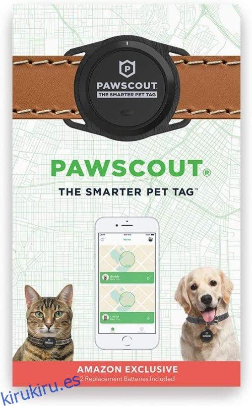 Etiqueta para mascotas más inteligente Pawscout