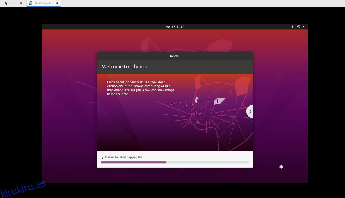 Cómo descargar y configurar una imagen de VMware de escritorio de Ubuntu