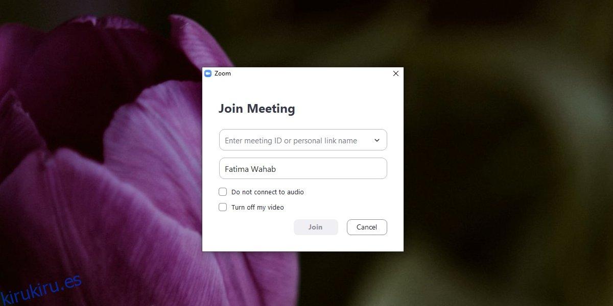 Cómo unirse a una reunión de Zoom: inicie sesión con contraseña