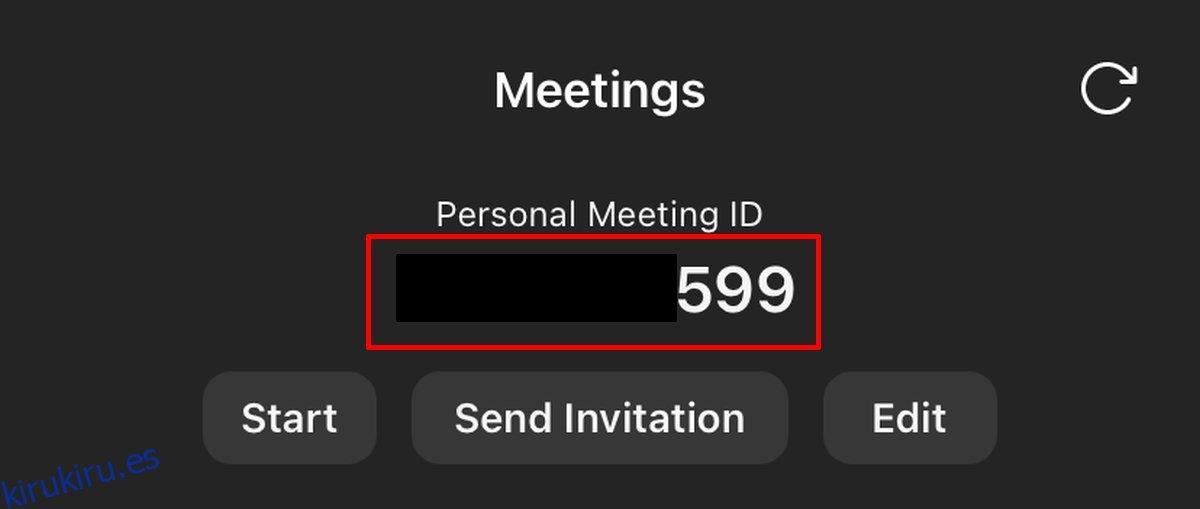 Cómo utilizar un ID de reunión personal de Zoom